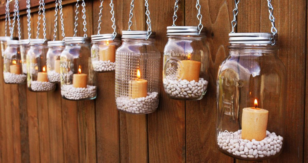 mason-jar-lanterns diy